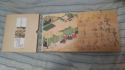 The Tale of Genji by Tosa Mitsunori Rare Book Accordion Folded Book Shogun Age