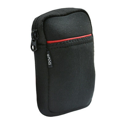 IXUS Camera Pouch Case with Belt Loop for Canon IXUS Powershot and Other Cameras