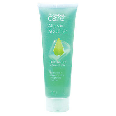 NEW Pharmacy Care Cooling Gel After Sun Gel 125g Sun Protection Sun Care