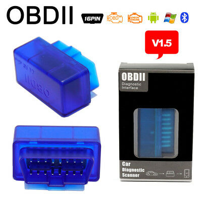 OBD2 II Car Code Scanner ELM327 V2.1 Bluetooth&Wifi IOS Diagnostic Car Interface