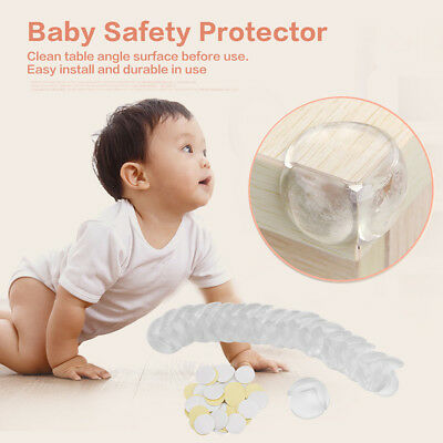 16/20Pcs Table Desk Corner Edge Guard Cushion Baby Kid Safety Protector Home Use