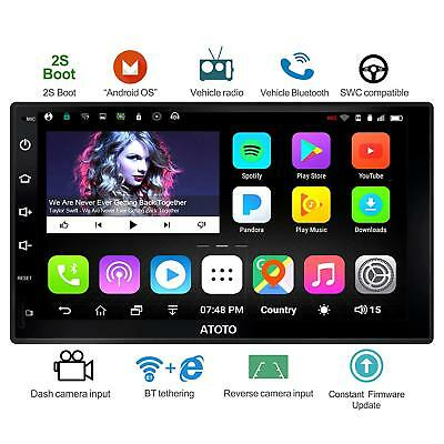 "ATOTO A6 7"" 2DIN Android Car GPS Stereo GPS Nav Radio/ A6Y2710S/Dual Bluetooth"