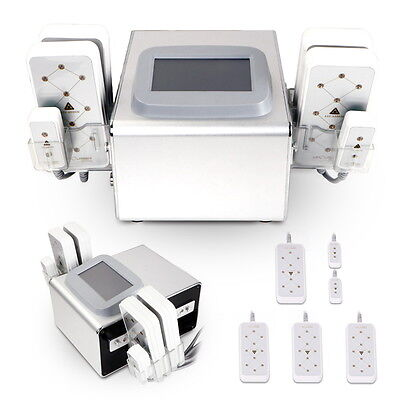 6 Pads Diode Lipo Laser Lipolysis Fat Slimming Machine Body Cellulite Treatment