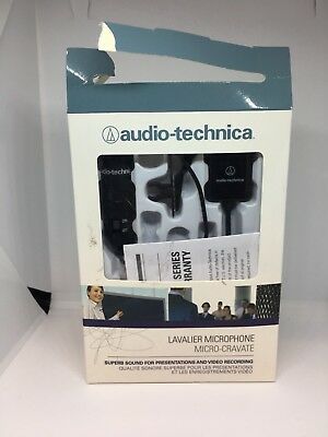 Audio Technica ATR-3350 Lavalier Omnidirectional Condenser Microphone