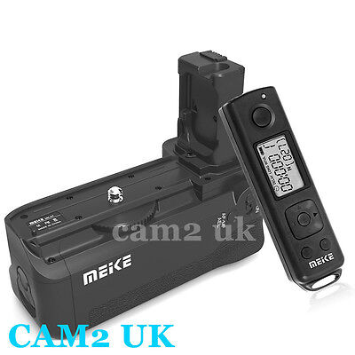 Meike Remote Wireless Control & Battery Grip for Sony NEX A7 A7R A7S as VG-C1EM