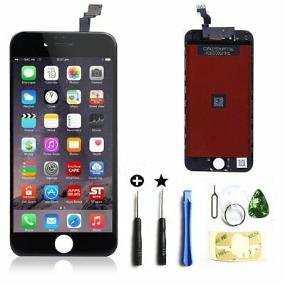 "For iphone 6 plus 5.5"" lcd screen replacement digitizer frame display black tool"