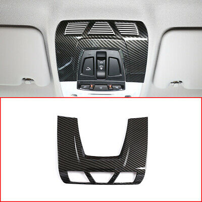 Carbon Fiber Style Front Reading Light Cover for BMW F48 F15 F16 F30 F34 X1 X5X6