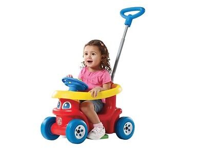 Step 2 Scoot Along 3 In 1 Push Drive Ride On. Brand New.