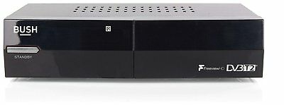 BUSH Freeview CDVBT2, HD Set Top Box, New Design, Perfect for Gift RRP £39.99