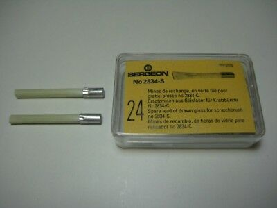Bergeon 2834-S Spare Brushes For Glass Fibre Pencil