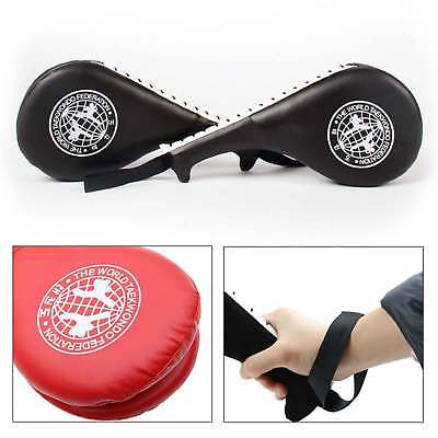 Taekwondo Double Kick Pad Target Karate Kickboxing Focus Muay Thai MMA Training