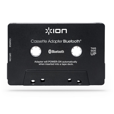 Bluetooth Adapter Audio Streaming for Cassette & Built-In Hands-Free Microphone