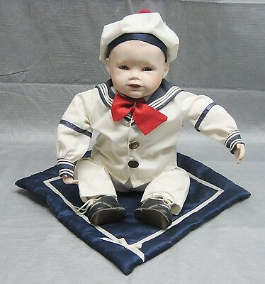 "1987 Knowles Collectible Dolls ""Matthew"" Sailor Boy by Yolanda Bello - Numbered"