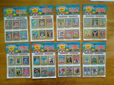Garbage Pail Kids Stick On Pictures