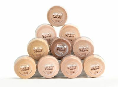 Maybelline Dream Matte Mouse Foundation - Choose a shade