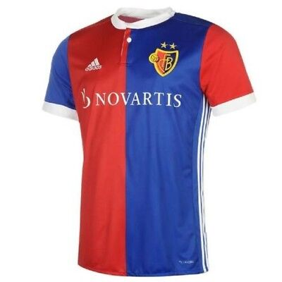 Adidas FC Basel Clubs Football Home Tricot Jersey Men's Shirt 2017 2018 NEW 7377