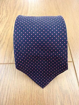 St Michael M&S Vintage 100% SILK HAND MADE NECK TIE Made in Italy