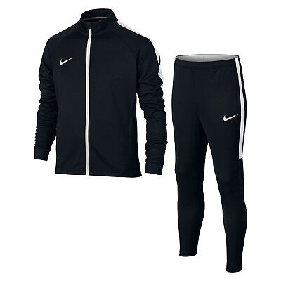 Nike junior boys Football Tracksuit  -  Navy / White   844714 - 451