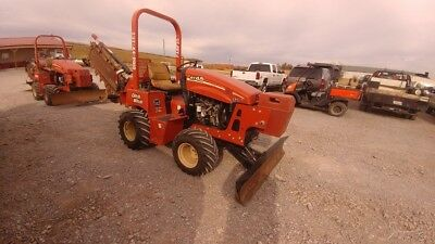 2012 Ditch Witch RT45 RT 45 Ride on Trencher With Blade
