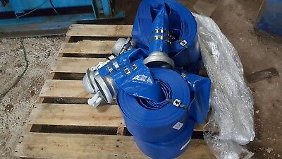Lay Flat Hose 25 M Bauer Coupling 4 In