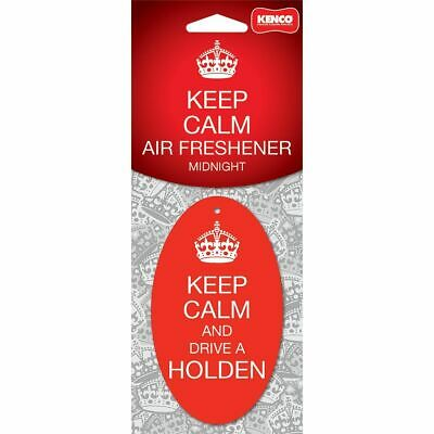 Keep Calm & Drive a Holden Carded Air Freshener