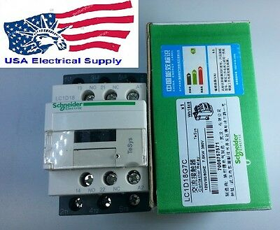 New Schneider LC1D18G7C Contactor  With Coil 120VAC 50/60Hz