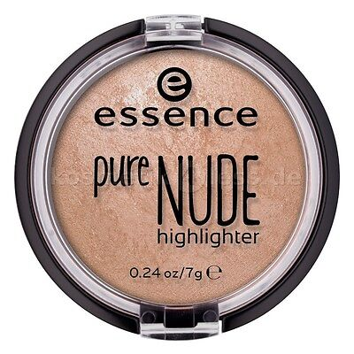 ESSENCE PURE NUDE HIGHLIGHTER #10 Be my Highlight Baked Highlighter New