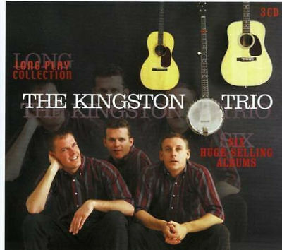 Kingston Trio 3-CD BOX SET Long Play Collection: Six Huge-Selling Albums Sealed