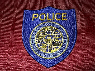Sacramento Police Department Shoulder Patch
