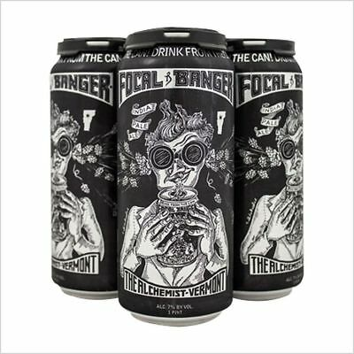 Focal Banger 4-Pack Alchemist Brewing IPA FULL & FRESH Cans DIRECT FROM BREWERY!