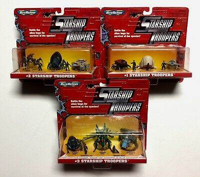 Micro Machines Starship Troopers Collection, Micro Machines Lot of (3)