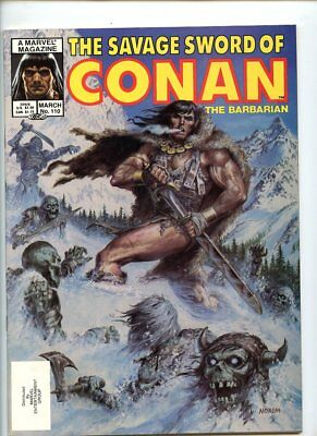 Savage Sword of Conan #110 (1974 Series) Marvel Magazine NM 9.4