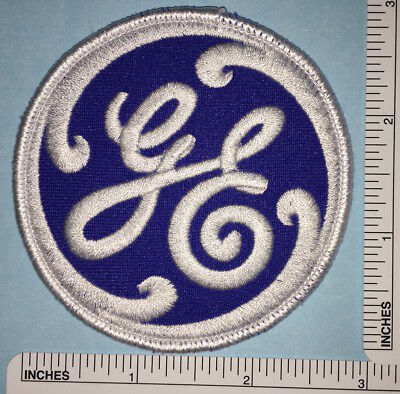 General Electric Blue Badge Crest Patch