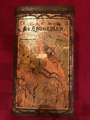 Antique Tin De Beukelaer Cacao (Very Rare)
