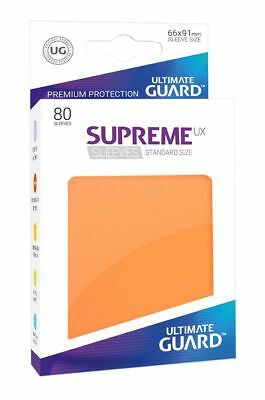 Ultimate Guard - Supreme UX Sleeves Standard Orange 80 Stück Kartenhüllen Hüllen
