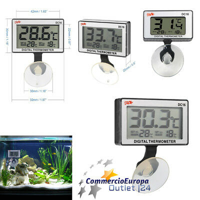 Termometro Digitale Per Acquario Terrario Digital Thermometer Aquarium Pesci