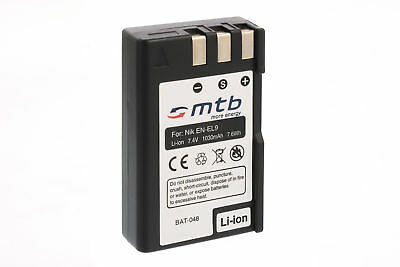 Batteria EN-EL9 EN-EL9a per Nikon D40, D40x, D60, D3000, D5000 / ENEL9 ENEL9a