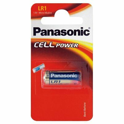 PANASONIC 1.5v SECURITY LR1 N-SIZE E90 BATTERY BATTERIES CELL POWER HIGH QUALITY