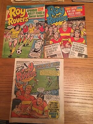Roy Of The Rovers Comics 1985