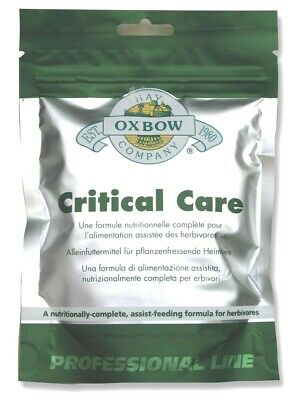 Oxbow - Critical Care Pet Sachet - 141g