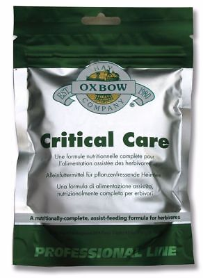 BARGAIN Oxbow - Critical Care Pet Sachet - 454g