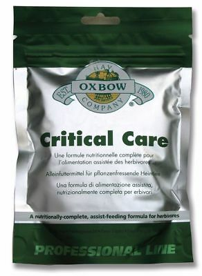 Oxbow - Critical Care Pet Sachet - 454g