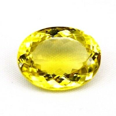 TOP LEMON CITRINE : 12,69 Ct Natürlicher Lemon Citrin aus Madagaskar