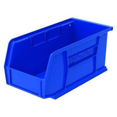 "Blue Hang and Stack Bin, 10-7/8""L x 5-1/2""W x 5""H AKRO-MILS 30230BLUE"