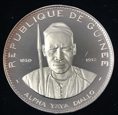 1969 Proof 250 Francs stunning - free shipping