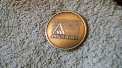 THE ARNOT MALL 30th ANNIVERSARY COLLECTOR COIN 1997 FREE USA SHIPPING