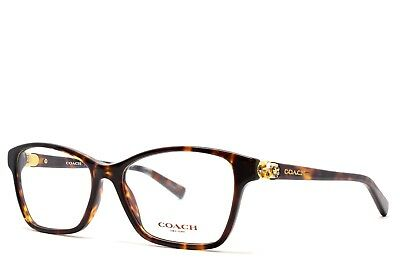 25cf682aa5 COACH EYEGLASSES tortoise 6091B 5120 53-16-135 New Authentic WITHOUT CASE