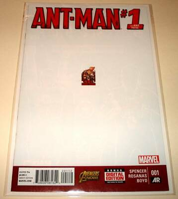 ANT-MAN # 1 Marvel Comic (April 2015) VFN/NM  2nd PRINTING VARIANT COVER EDITION