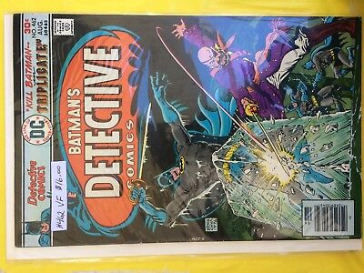 #462   Detective Comics   Vf   Sale 50% To 70% Discount