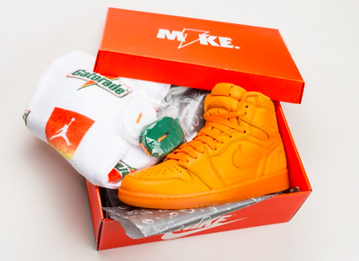 Nike Air Jordan Retro I 1 HIGH OG GATORADE Orange Peel AJ5997-880 LIKE MIKE G8RD